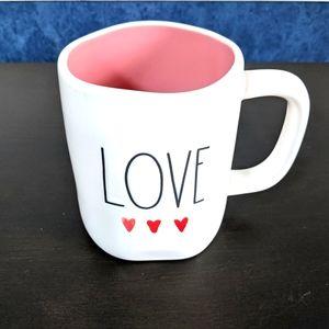 EUC Rae Dunn LOVE Ceramic Mug